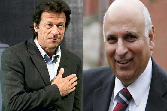 Sarwar meets Imran, may become PTI's president