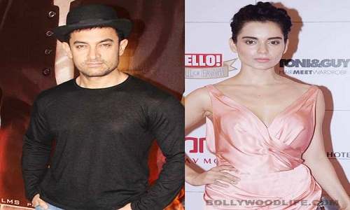 Kangana Ranaut not playing Aamir Khan's daughter in 'Dangal'