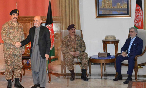 Pakistan standing with Afghanistan in war against terror: COAS
