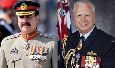 Australian Chief of Defence Forces meets General Raheel Sharif