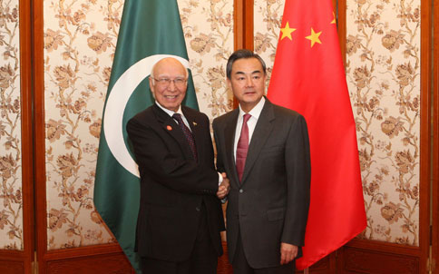 Pakistan, China agree to end terrorism