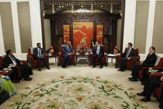 China to be consulted on any project re-think, says Sri Lankan FM