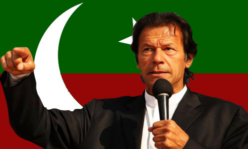 Peace impossible without depoliticizing police, says Imran Khan