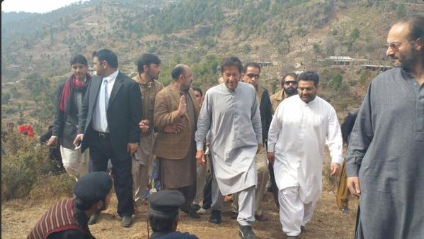 Imran Khan launches tree plantation campaign