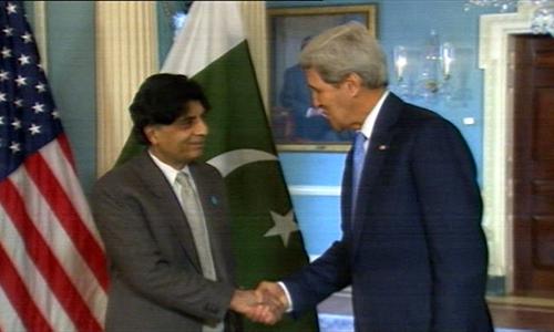Better Pak-Afghan ties will be helpful in countering terrorism: Ch Nisar