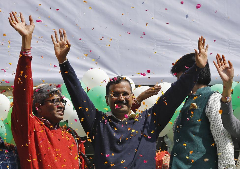 India's ruling party trounced in Delhi in big blow for Modi