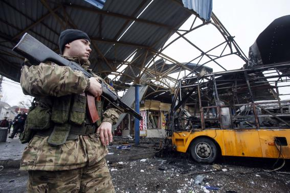 Ukraine peace summit overshadowed by surge in fighting