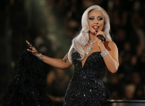 Singer Lady Gaga says she's engaged to actor Taylor Kinney