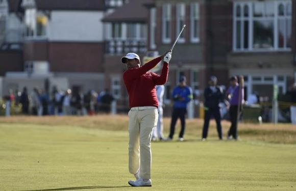 Indian Lahiri wins second European Tour golf title in playoff