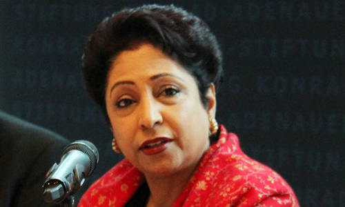 Maleeha Lodhi assumes charge as permanent representative to UN