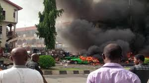 Female suicide bomber kills 10 in attack on Nigerian bus station