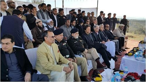 Imran Khan visits Explosives Handling School in Nowshera