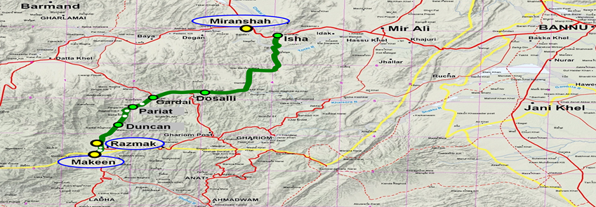 Four terrorists arrested in Razmak: ISPR