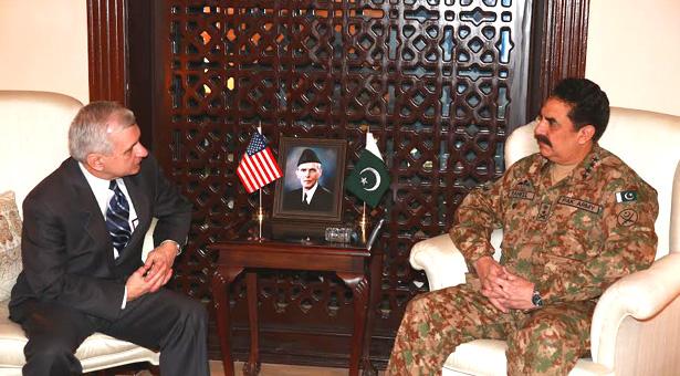 US Congress delegation calls on General Raheel Sharif