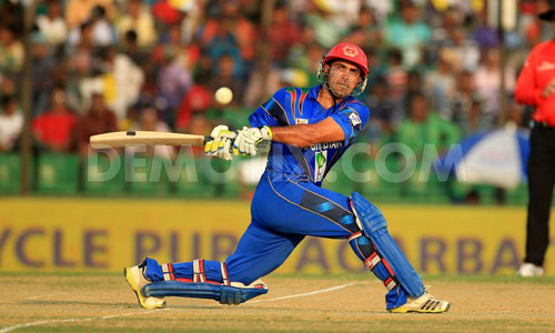 Shenwari gives Afghanistan first World Cup win over Scotland