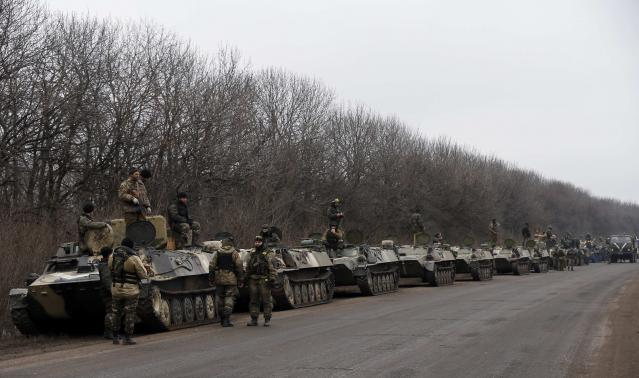 Ukraine begins artillery withdrawal, recognizing truce is holding