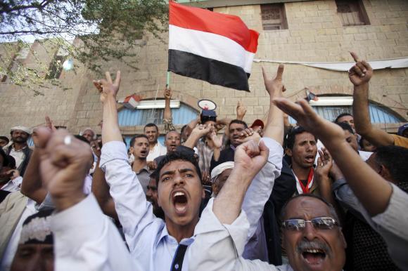 Battle lines drawn for a civil war in Yemen
