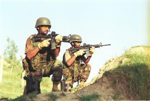 Two suspected terrorists held in Battagram