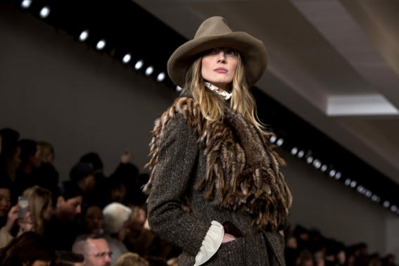 Designers spin '70s vibe for winter looks at New York Fashion Week