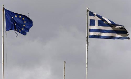 Euro zone backs Greek aid extension, seeks clearer reforms
