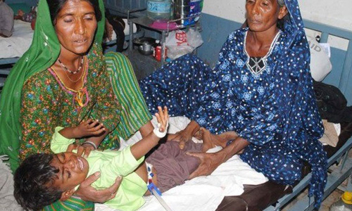 Six more kids die of malnutrition in Thar, death toll at 102 in two months