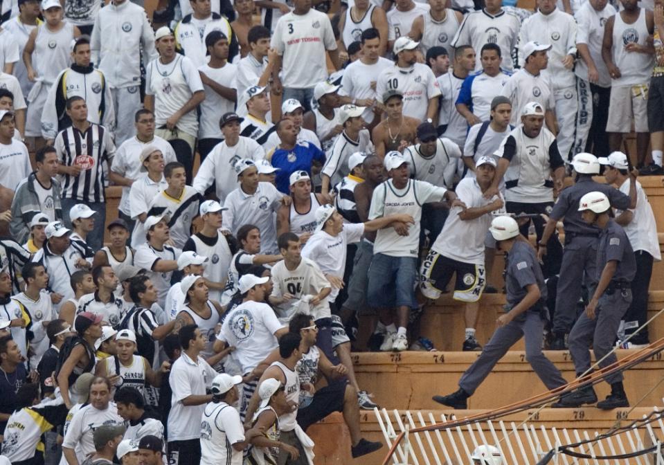 Wave of fan violence hits Brazil just weeks into new season