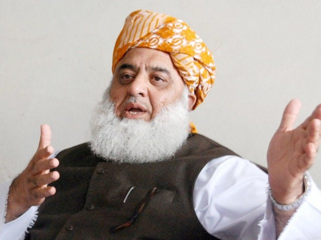 Fazal meets PM,  refuses to withdraw resolution against PTI MNAs
