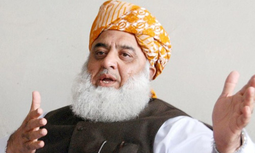 PTI should come to parliament for legislation, says Maulana Fazlur Rehman