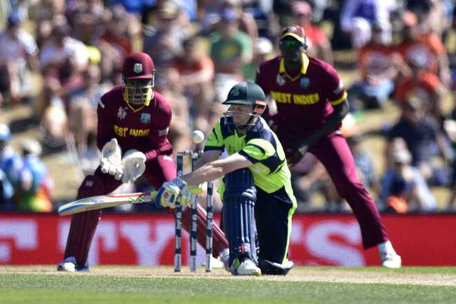 WC 2015: Ireland beat West Indies by 4 wickets
