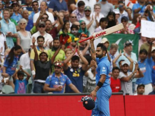 Kohli ton drives India to emphatic win against Pakistan in World Cup thriller