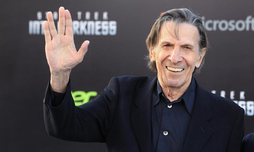 Leonard Nimoy, Star Trek's 'Mr. Spock,' dies at 83