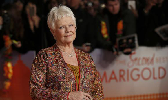 Marigold Hotel's Dench still driven by lure of the new