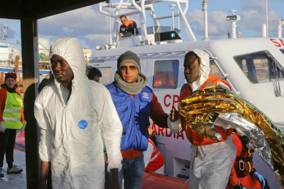 Over 300 migrants died this week trying to reach Italy