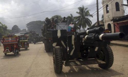 Philippine army kills 14 Islamic militants