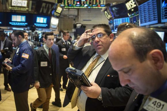 Wall Street edges up after German data; UMich on tap