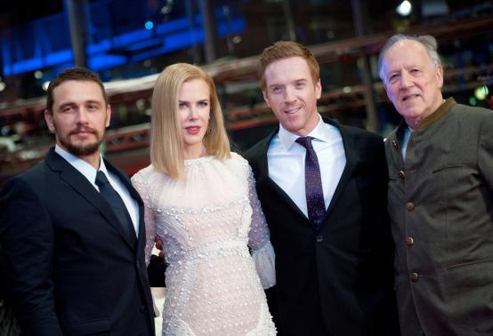 "Herzog brings his female ""Lawrence of Arabia"" to Berlin film contest"