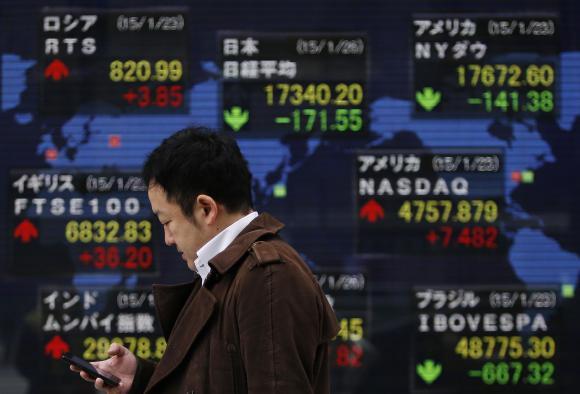 Asia shares stumble over weak China trade