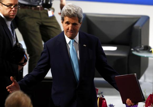 Kerry denies split between U.S. and Europe on Russia policy