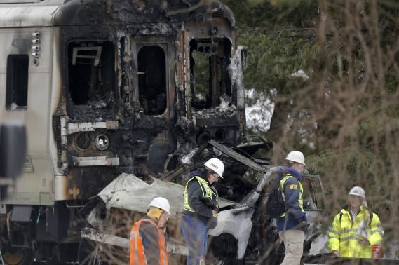 New York train was not speeding before crash with car