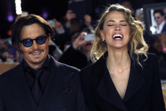 Actor Johnny Depp marries fiancee Amber Heard