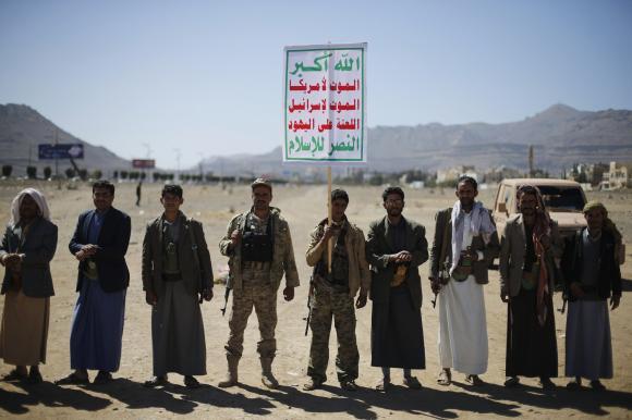 Yemen's Houthis dissolve parliament, assume power: televised statement