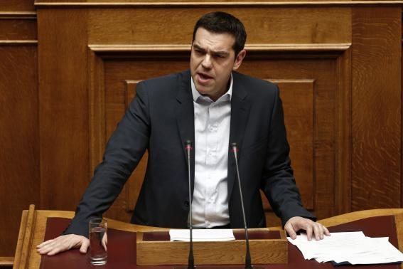 Defiant Greek PM sets up EU clash with bailout rejection, austerity rollback
