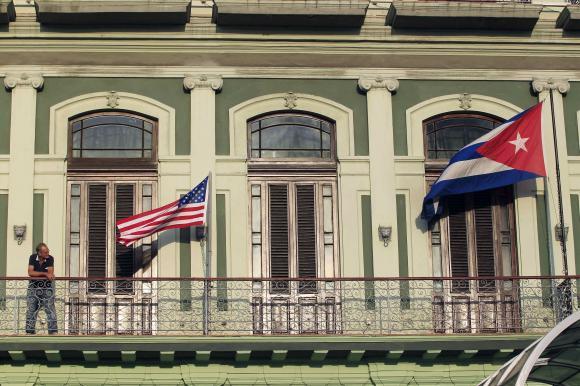 U.S. pressing Cuba to restore diplomatic ties before April - officials