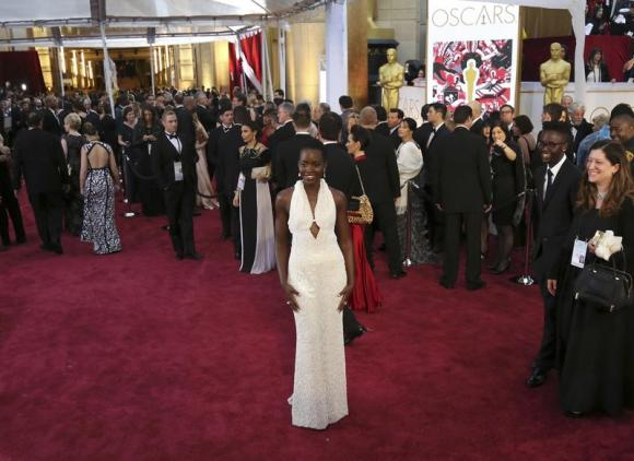 Nyong'o's $150,000 Oscars dress stolen from hotel