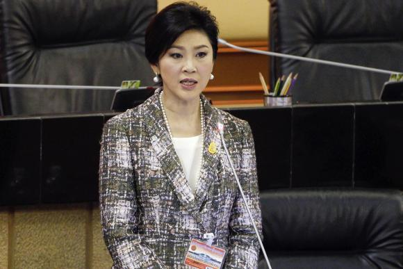 Thailand files charges against former PM Yingluck