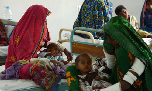 Three more children die of food shortage in Mithi