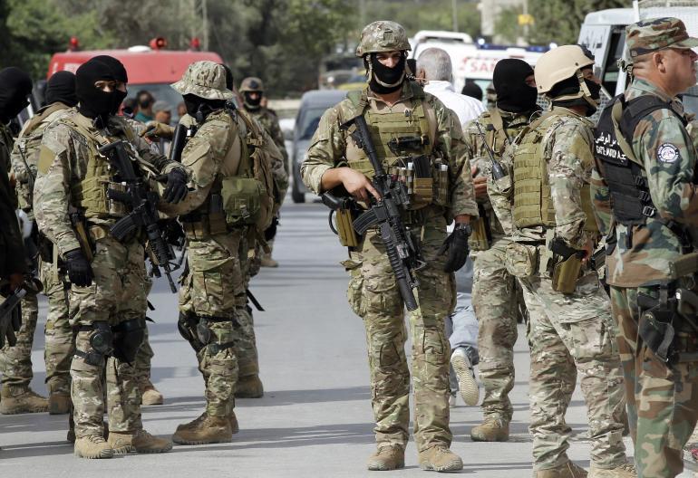 Four Tunisian police killed in militant attack