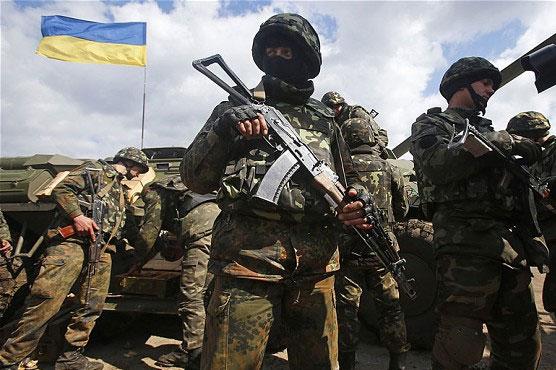 Fighting rages in run-up to Ukraine ceasefire