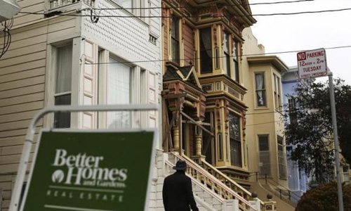 US home prices rise, service sector expands but consumer sentiment dips