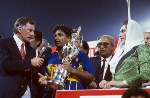 World Cup Final Australia v Sri Lanka Lahore 1995-96